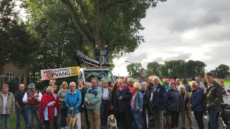 Groeiend verzet tegen verslaafdenopvang in weiland Haarlem