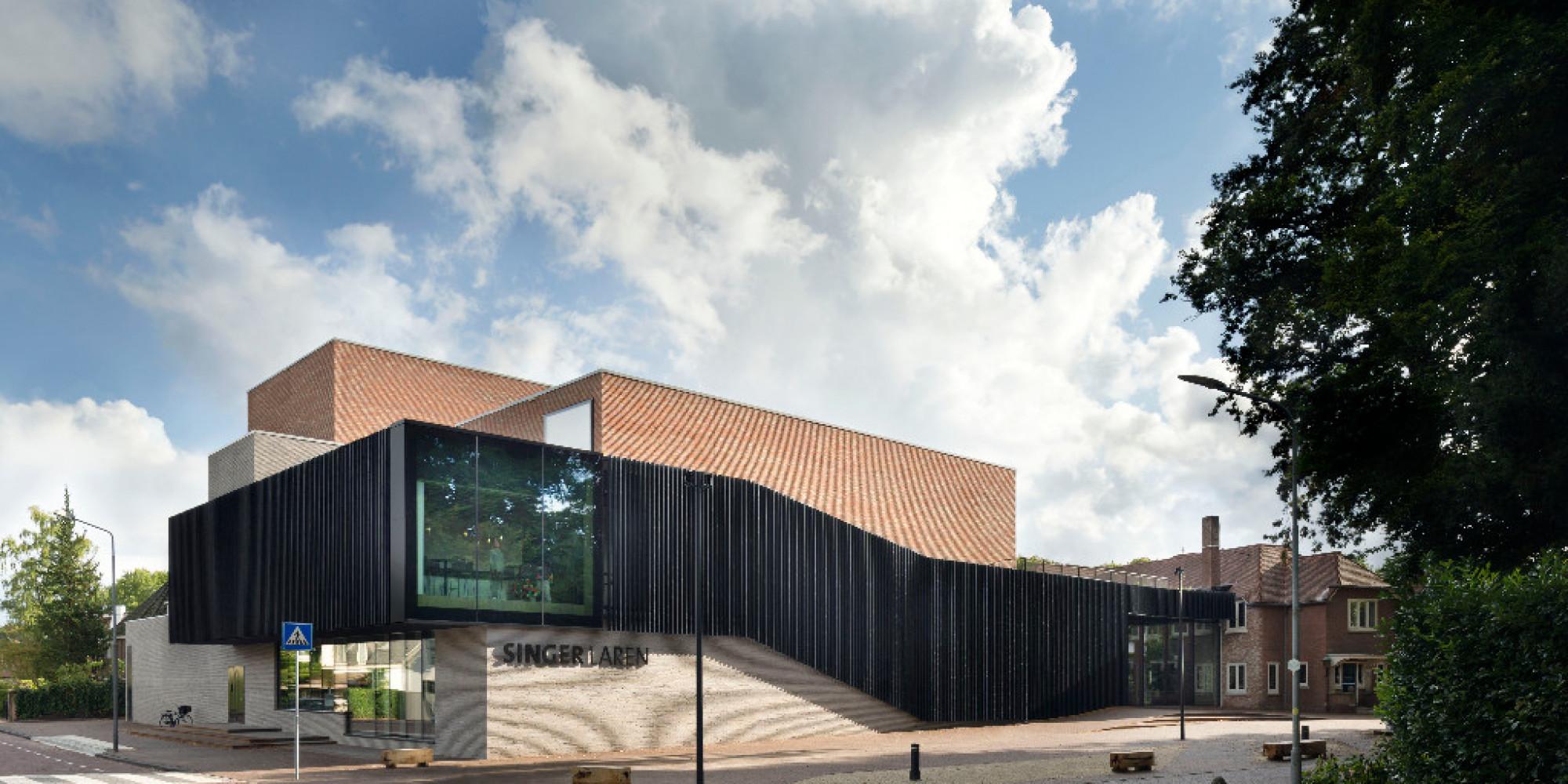 Singer Museum Laren - nieuw theater en centrale entree