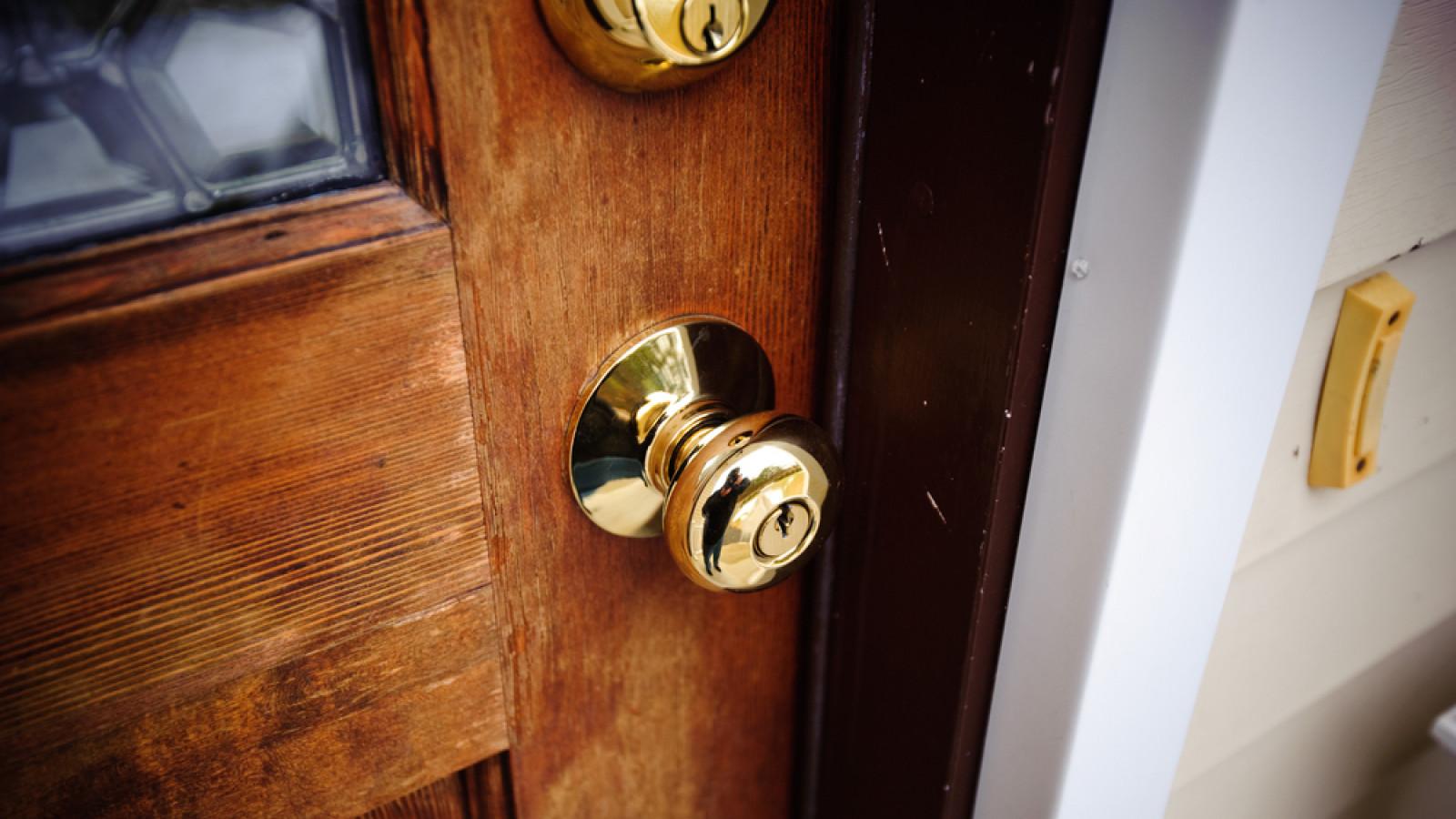 Een voordeur. Foto: Shutterstock