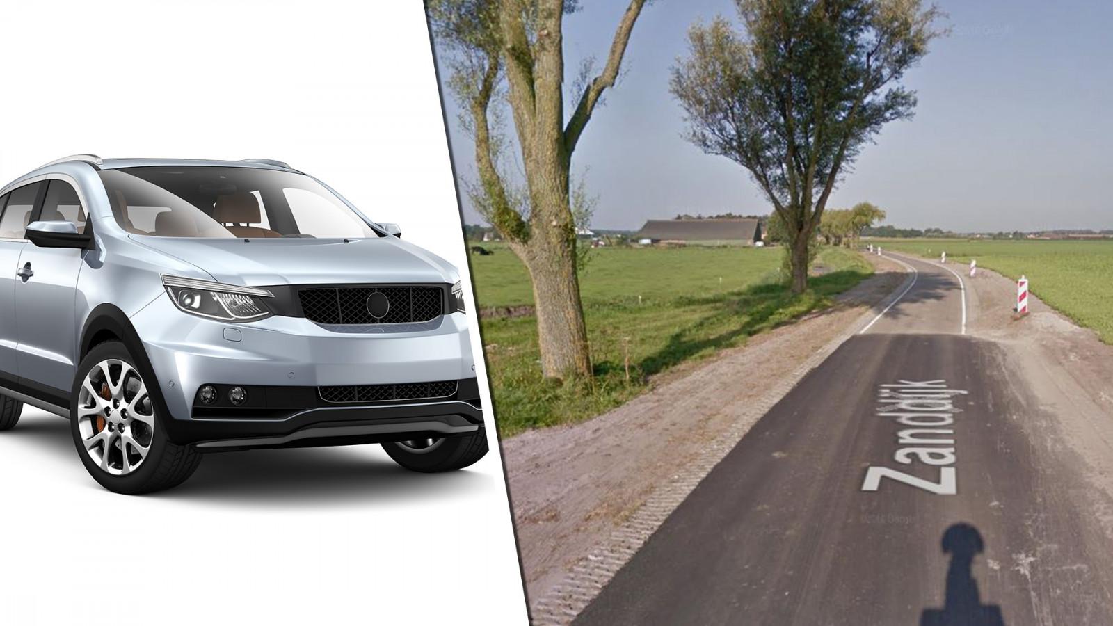 (Auto is niet de auto uit het verhaal) Shutterstock / Google Maps