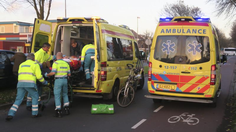 Fietser gewond bij aanrijding Heemskerk