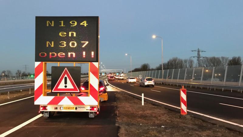 Westfrisiaweg geopend
