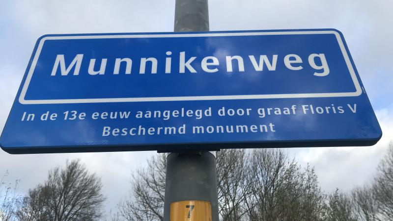 Munnikenweg is gemeentelijk monument