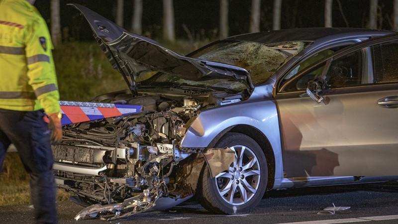 Twee doden bij zwaar ongeluk op A9