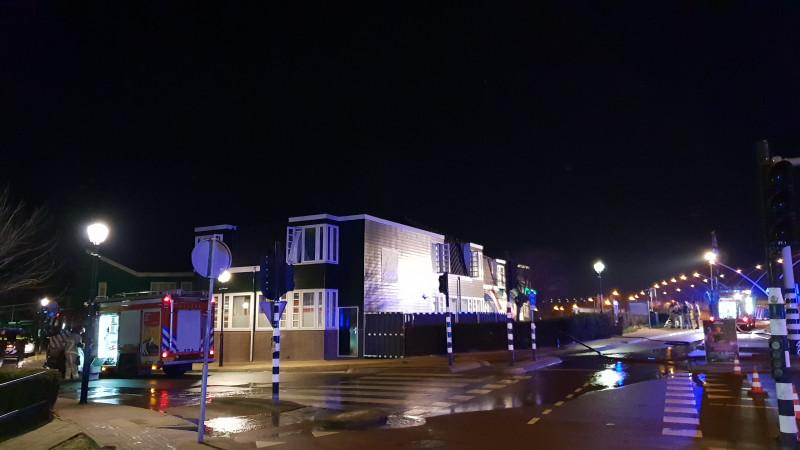Hotel Zaandijk ontruimd om keukenbrand