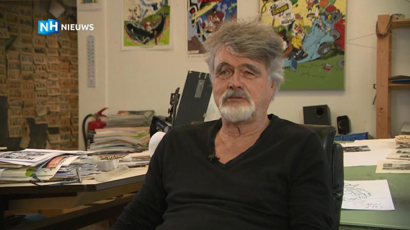 """Daan Jippes is een van de beste Disney-tekenaars, maar """"elke tekening is weer opnieuw beginnen."""""""