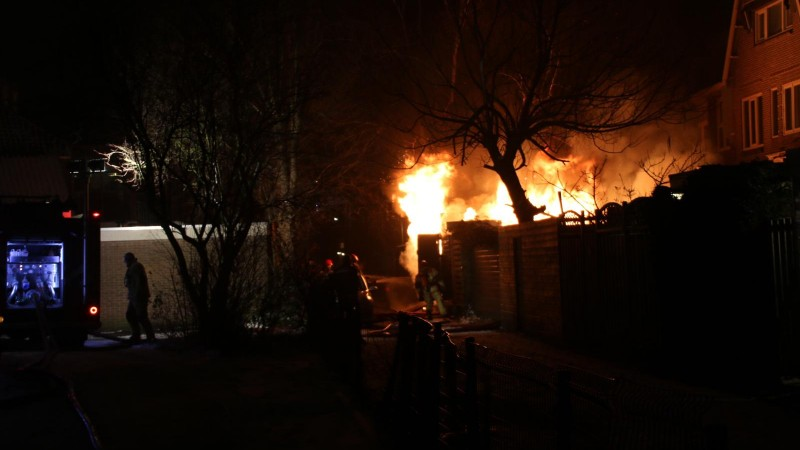 Grote brand Purmerend 2