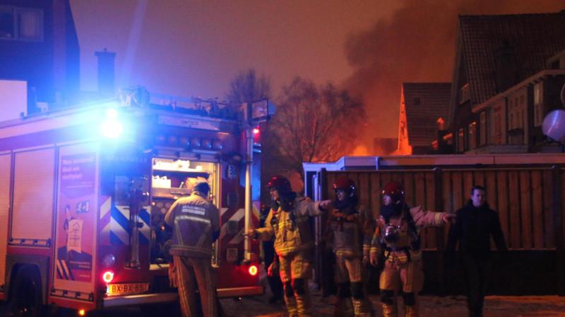 Schuren afgebrand in Purmerend, woningen onbewoonbaar