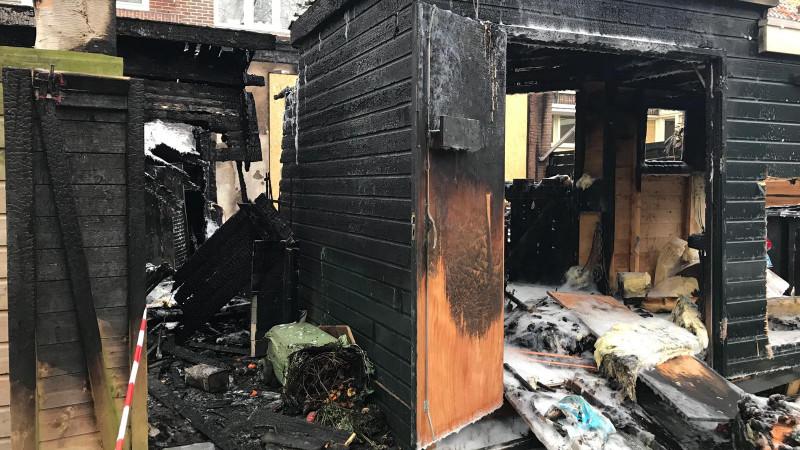 Schade na verwoestende brand Purmerend