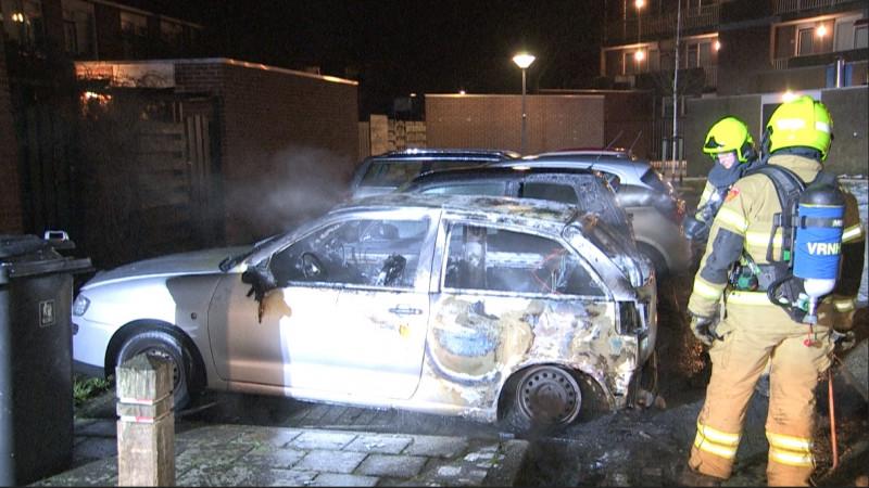Weer auto's uitgebrand in Hoorn
