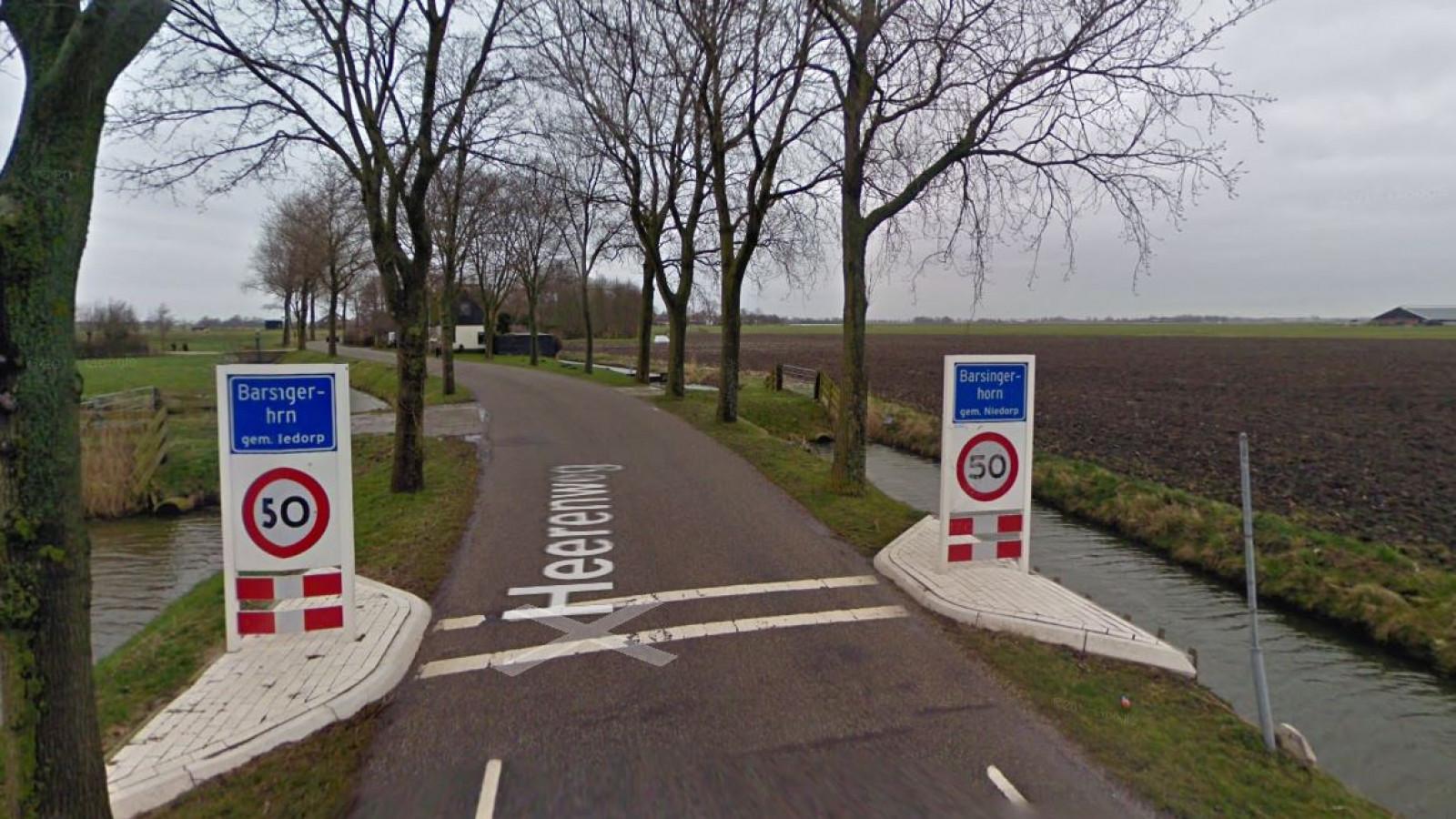 Het begin van de Heerenweg | Google Maps