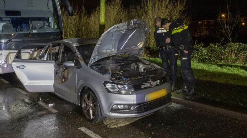 Autobrand Nieuwendammerdijk Amsterdam-Noord