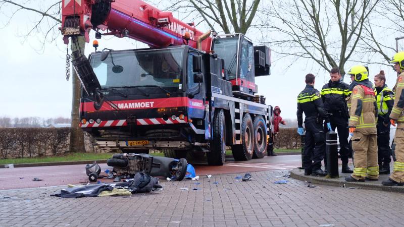 Slachtoffer aanrijding telescoopkraan is 16-jarige Alkmaarder.