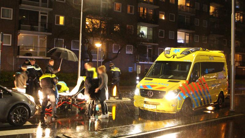 Kind gewond na botsing met auto in Amstelveen.