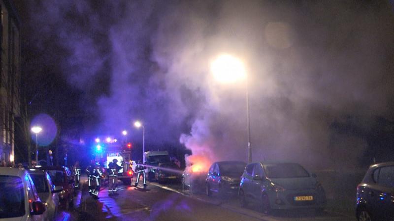 Autobrand Morgensterstraat Zaandam