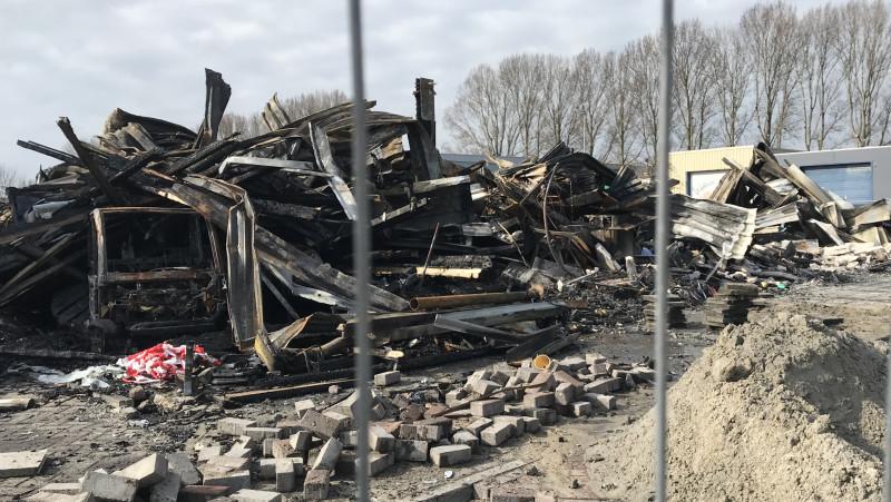 Schade na brand Alkmaar