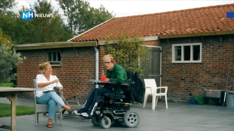 promo video moet gehandicapte Camiel aan een baan helpen
