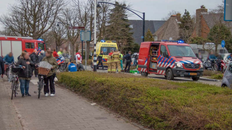 Fietser overleden bij ernstig ongeluk in Heerhugowaard.