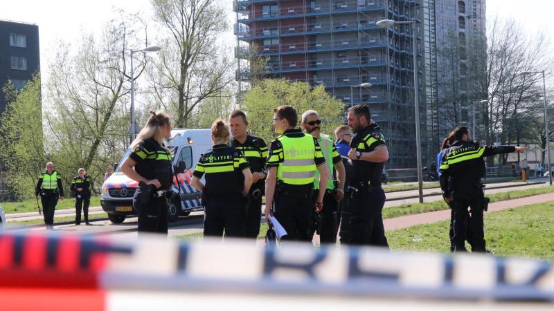 Jonge fietser aangereden door fietser in Amsterdam