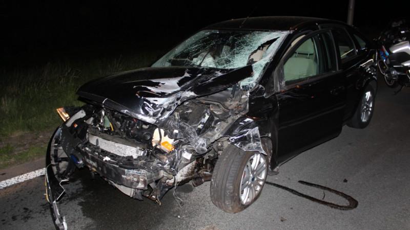 Ravage na zwaar ongeluk op N505.