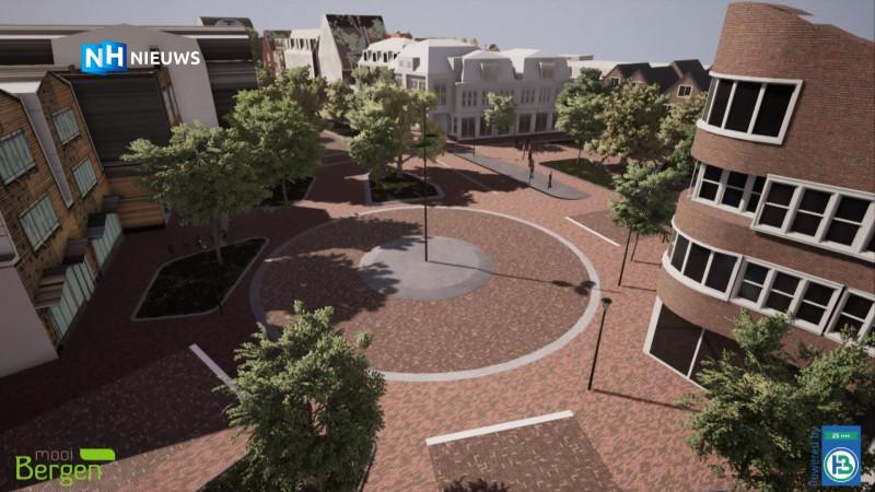 dorpshart centrumplan Bergen harmonielocatie