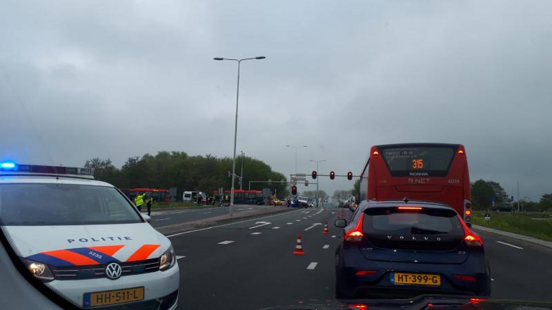 Snorfietser overleden na ongeluk met auto op N247.