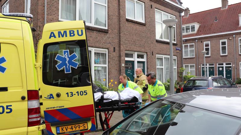 Mindervalide Amsterdammer uit brandende woning gered