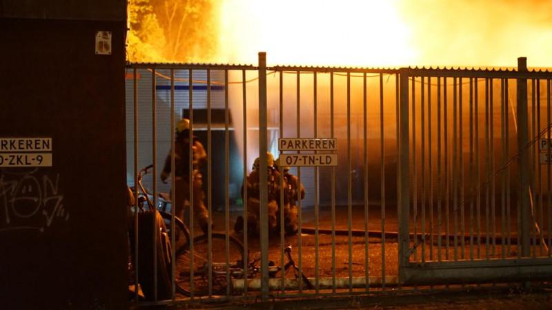 Brand auto- en scooterhandel Den Helder