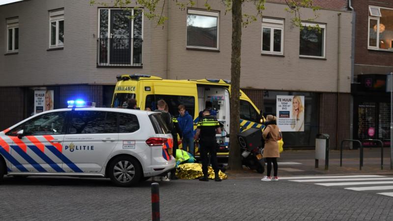 Zwangere vrouw en gezin met twee kinderen naar het ziekenhuis na ongeluk in Wanroij.