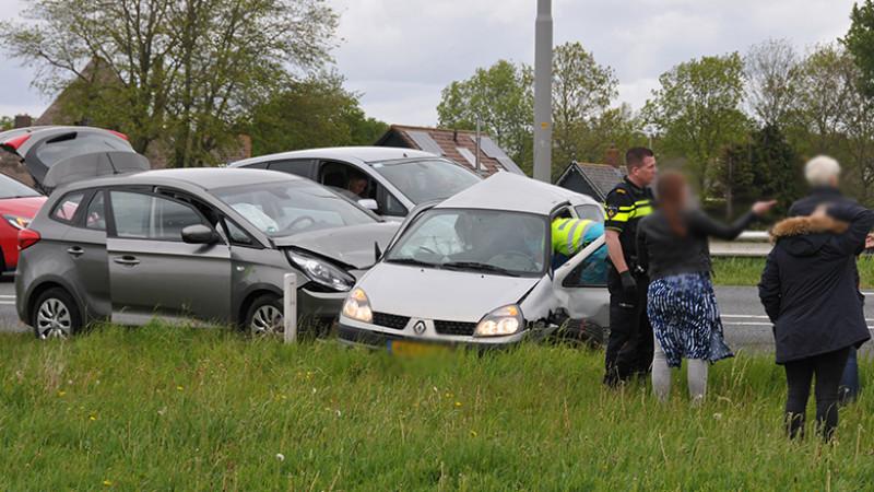 Zes gewonden bij frontale botsing op N9: weg in beide richtingen dicht.