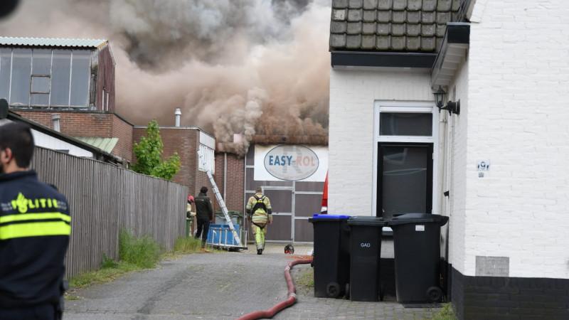 Brand in Loosdrecht