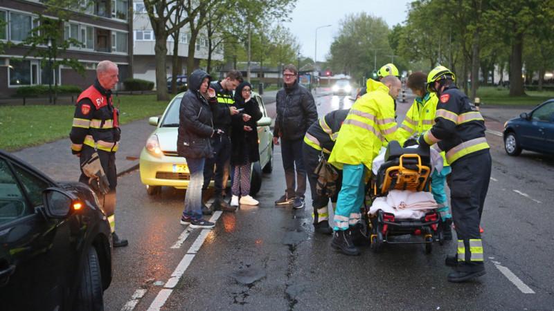 Vluchtend automobilist kort na aanrijding aangehouden.