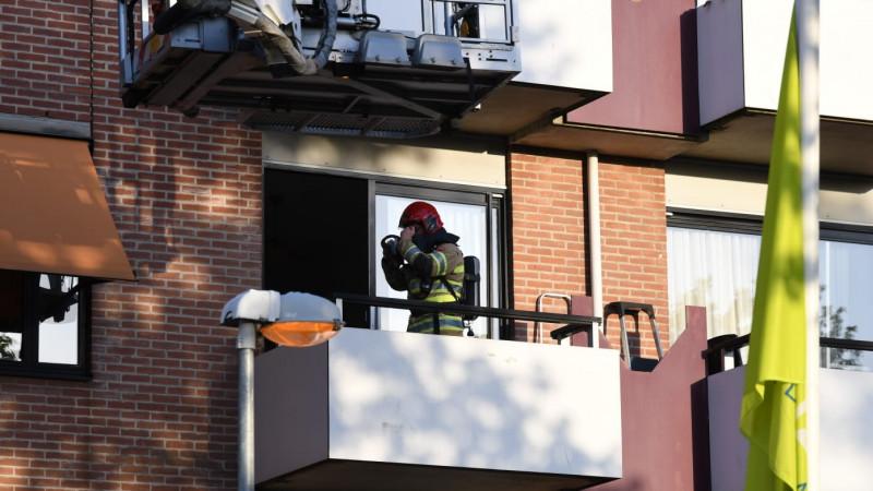 Brandje in bejaardenhuis