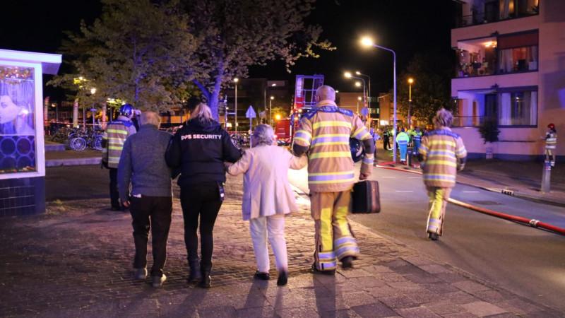 Grote brand in Hilversum