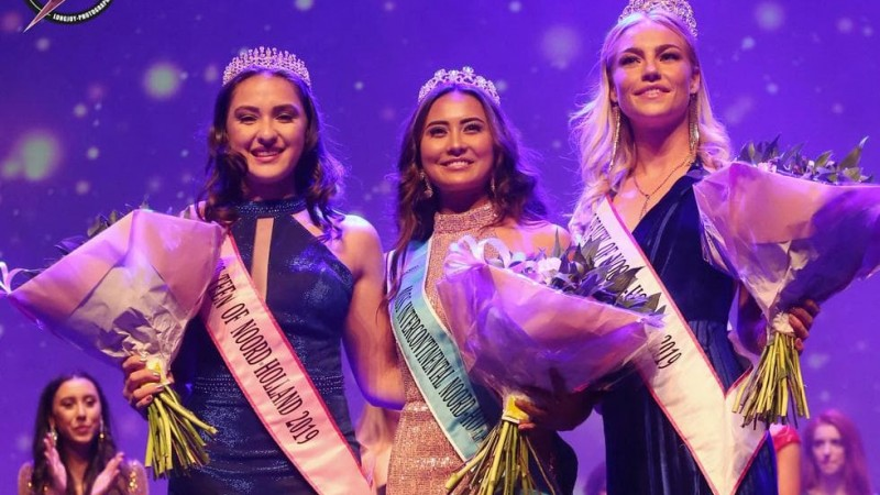 Miss Earth Noord-Holland verkiezing van Sophie Egberink