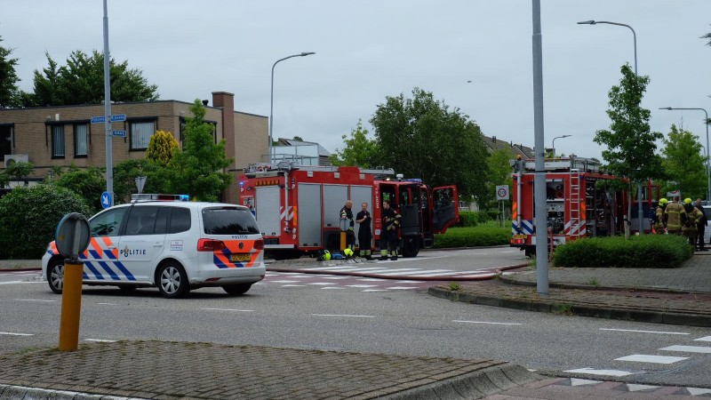 Brand in slooppand Limmen