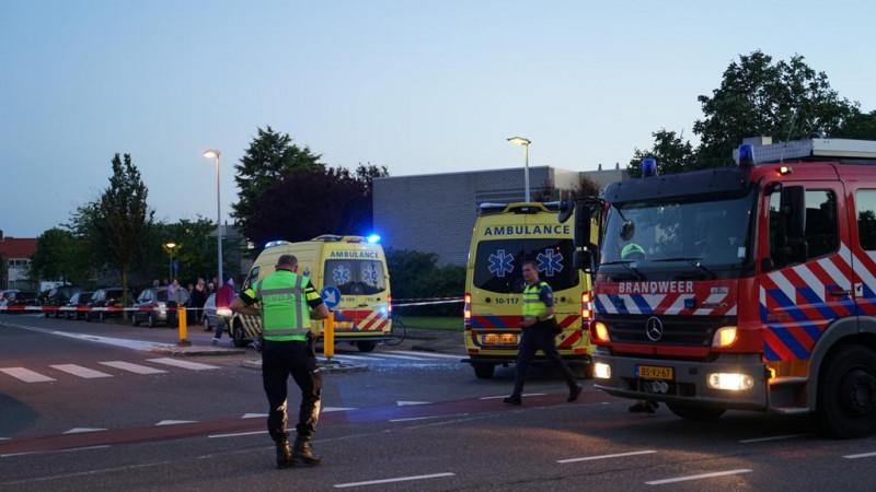 Gewonden bij ongeluk met auto en scooter in Den Helder.