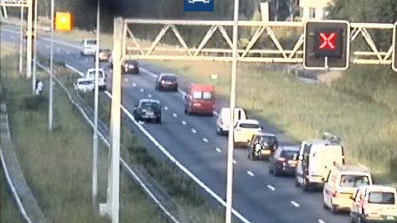 A7 weer vrij na ongeluk bij Purmerend: monsterfile lost op.
