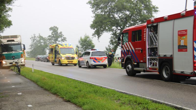 Vrouw uit Hilversum omgekomen bij ongeluk op N236.
