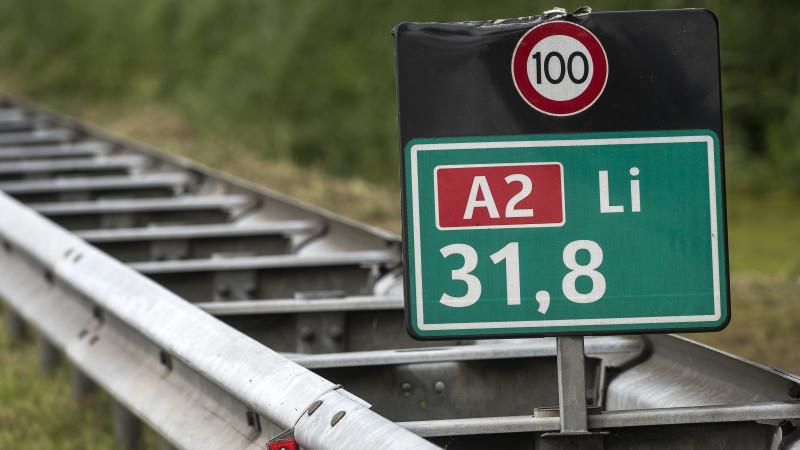 Nog steeds file door ongeluk op A2 bij Holendrecht.