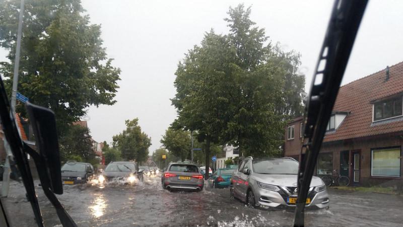 Wateroverlast Hilversum