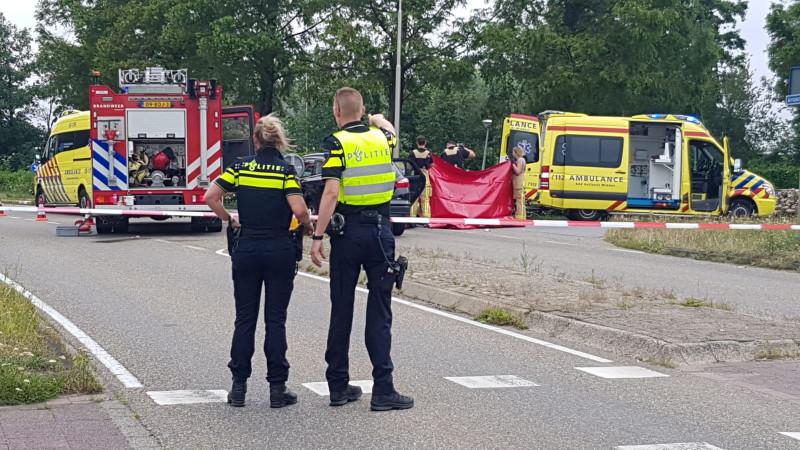 Fietsster uit Aalsmeer overleden na verkeersongeluk in Kudelstaart.