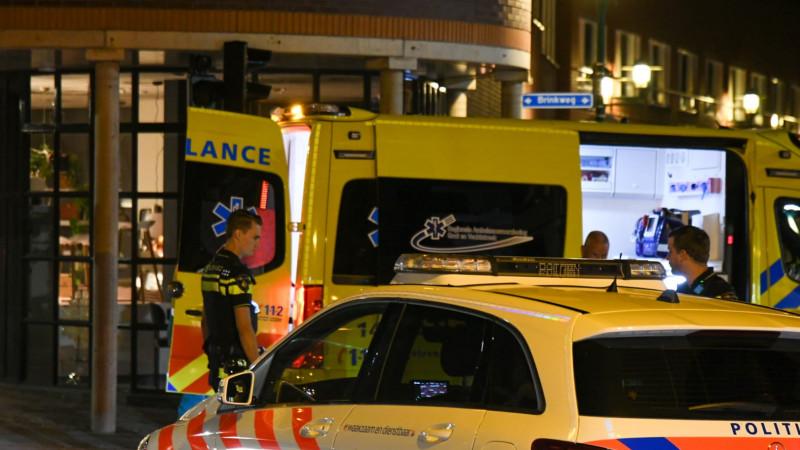 Fietsster gewond bij aanrijding in centrum Hilversum.