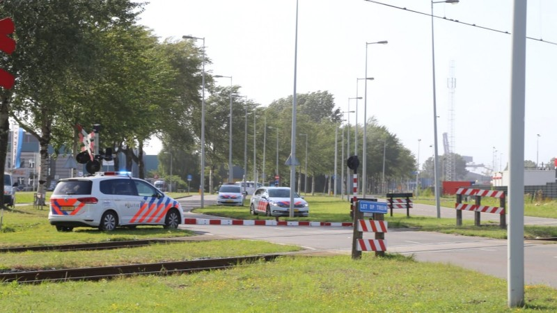 Automobilist overleden na ongeluk in Amsterdam.