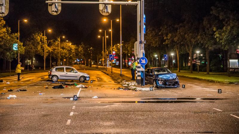 Ongeluk Plesmanweg Beverwijk