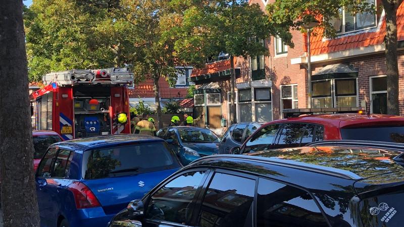 Uitslaande brand Joubertstraat Den Helder