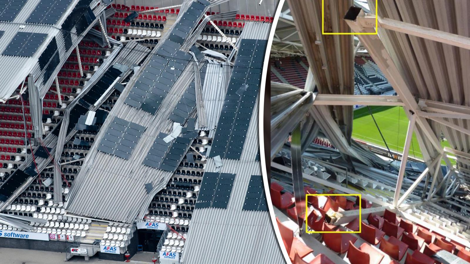 Monteur Staalconstructie Az Stadion Spreekt Zich Uit Dit