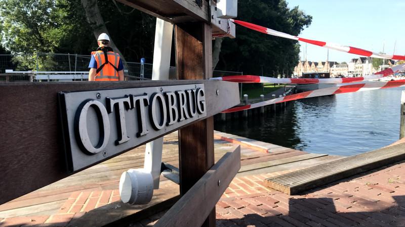 "Ottobrug weggetakeld voor herstelwerkzaamheden: ""Vóór 7 september klaar"""
