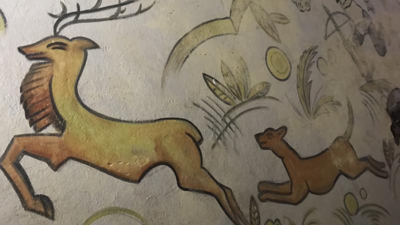 Duitse fresco bunker Castricum Bakkum