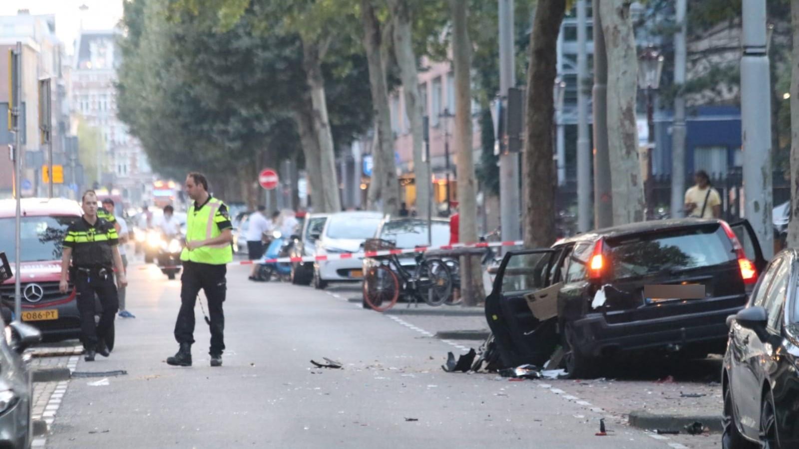 Bestuurder zegt niets meer te weten van dodelijk ongeval in Amsterdam.